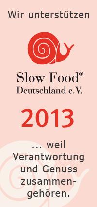 Slow Food Unterstützer 2013