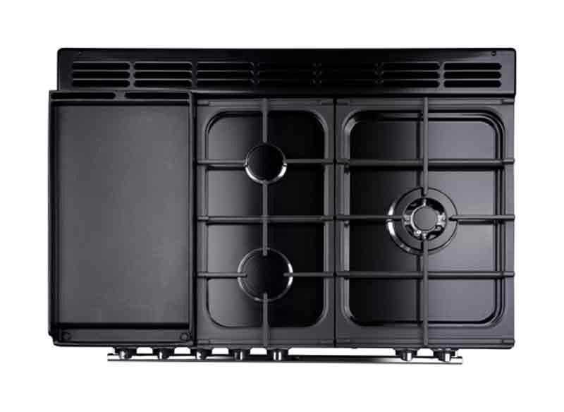falcon elektro gas herd professional fxp range cooker mit pyrolyse ofen smeg point essen. Black Bedroom Furniture Sets. Home Design Ideas