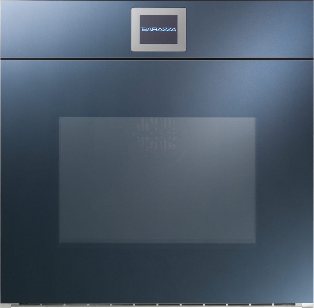 Barazza Velvet Touch Screen Einbaubackofen 1FVLT Velvet Multiprogramm Plus elektrisch öffnende DREHTÜRE 60 cm