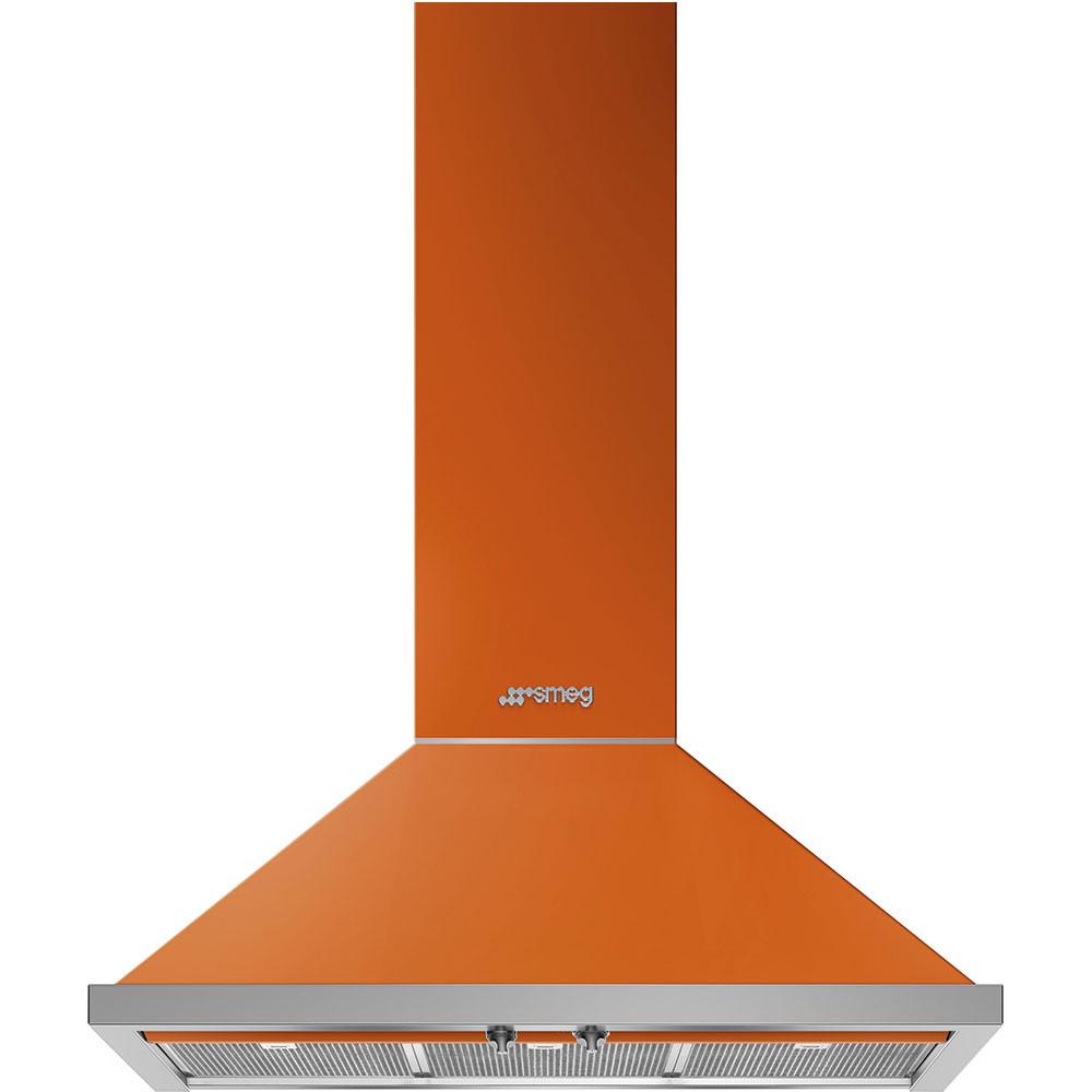 Smeg · KPF9OR · Portofino Dekor-Wandhaube · 90cm · Orange