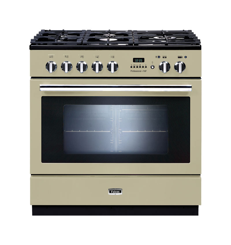 Falcon elektro gas herd professional fxp range cooker for Backofen gas