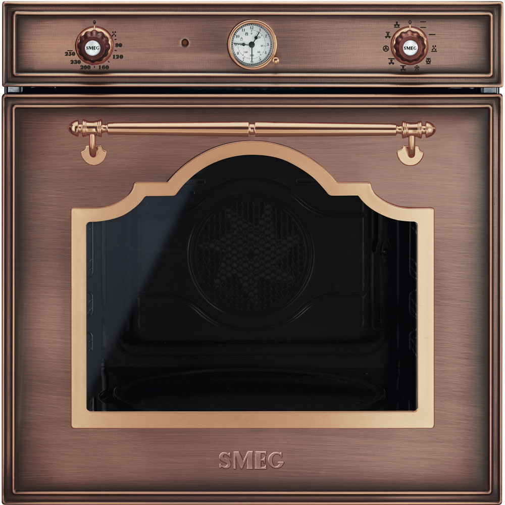 Smeg · SF750RA · Einbaubackofen · Antik-Design · 60cm · Kupfer