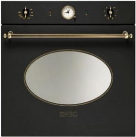 smeg sfp805 nostalgie einbaubackofen mit pyrolyse 60cm smeg point essen falcon herde. Black Bedroom Furniture Sets. Home Design Ideas