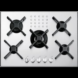 Barazza 70 cm Select Einbauelement 4 Brenner + 1 Dreikreisbrenner 1PI411SLVE