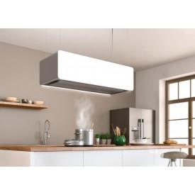 Berbel · BDL115SK · Deckenlifthaube Skyline · 115 cm Breite · Deckenanschluss mit Glassverkleidung und integrierter Effektbeleuchtung
