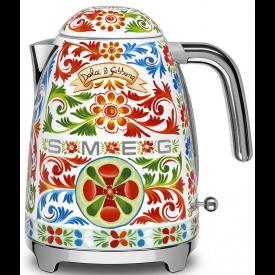 Smeg KLF03DGEU Wasserkocher im Dolce & Gabbana Design