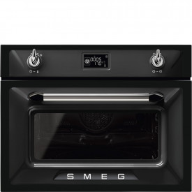 Smeg · SF4920MCN1 · Einbau-Kompakt-Mikrowellenbackofen · 45 cm