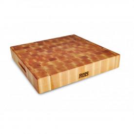 Boos Blocks Prep Blocks Hackblock 46x46x7,5 cm / Ahorn-Stirnholz