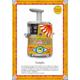 Smeg SJF01DGEU Entsafter im Dolce & Gabbana Design Slow Juicer