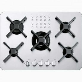 Barazza 70 cm Select Kochelement 4 Brenner + 1 Dreikreisbrenner 1PF411SLVE