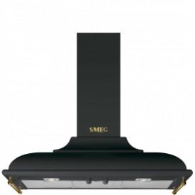 Smeg · KC19AOE · Designlinie Cortina · Dekor-Wandhaube 90 cm · Anthrazit