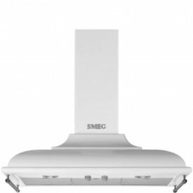 Smeg · KC19BSE · Designlinie Cortina · Dekor-Wandhaube 90 cm · Weiss