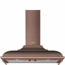 Smeg · KC19RAE · Designlinie Cortina · Dekor-Wandhaube 90 cm · Kupfer-Antik