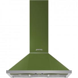Smeg · KPF9OG · Portofino Dekor-Wandhaube · 90cm · Olivgrün
