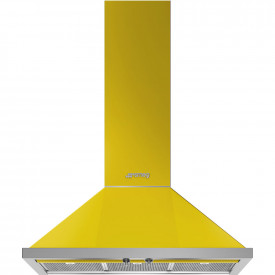 Smeg · KPF9YW · Portofino Dekor-Wandhaube · 90cm · Gelb
