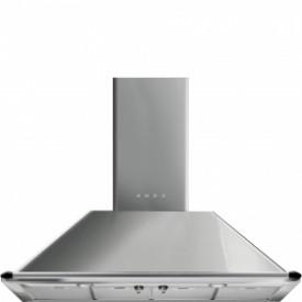 Smeg ·  KTR110XE · Designlinie Victoria · Dekor-Kaminwandhaube 110 cm · Edelstahl