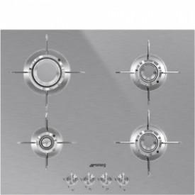 Smeg · PXL664 · Designlinie Dolce Stil Novo · Einbau-Gaskochmulde · 60 cm Edelstahlmulde