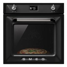 Smeg · SF6922 · Victoria Design · Einbaubackofen mit Pizzastein · 60cm