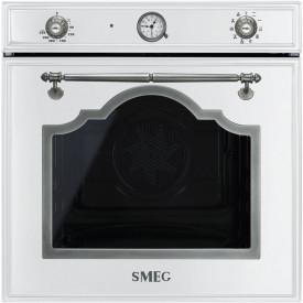 Smeg · SF750BS · Einbaubackofen · Weiss-Silber Antik · 60cm · Weiss