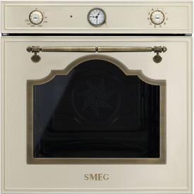 Smeg · SF750PO · Einbaubackofen · Antik-Design · 60cm · Creme-Messing