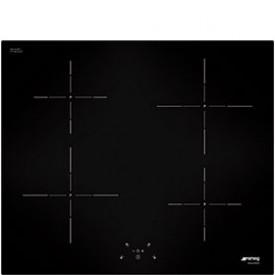 Smeg · SI5643D · Glaskeramikkochfeld Induktion 60cm · C-Schliff · schwarz