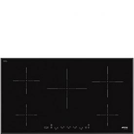 Smeg · SI5952B · Einbau-Induktionskochfeld 90cm · Facettenschliff · schwarz