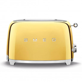 Smeg · Toaster · TSF01GDEU · Gold