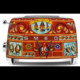 Smeg Toaster für 2 Scheiben im Dolce & Gabbana Design TSF01DGEU