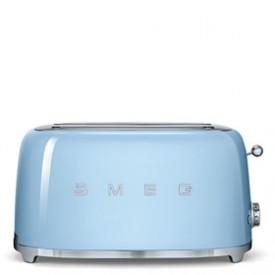 Smeg · TSF02PBEU · 4-Scheiben-Toaster · 50s Retro Style · Pastellblau -Ausstellungsmodell-