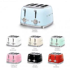 Smeg 50's Retro Style 4-Schlitz-Toaster TSF03