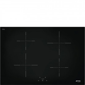Smeg · SI5741D · Einbau-Induktionskochfeld · Schwarze Glaskeramik · 75 cm
