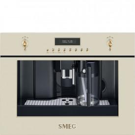 Smeg · CMS8451P · Einbau-Kompakt-Kaffeevollautomat · 60cm · Creme