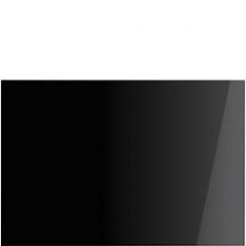Smeg · SPG110NE · Glasrückwand · Schwarz Facettiert