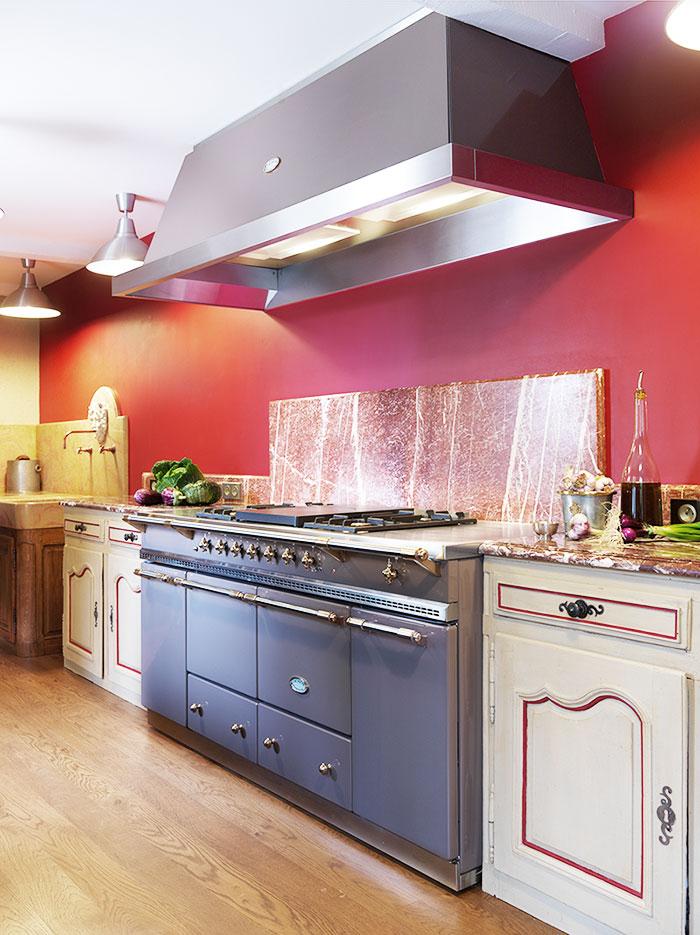 Lacanche in Küche