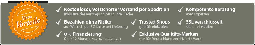 Your benefits at RangeCooker.de
