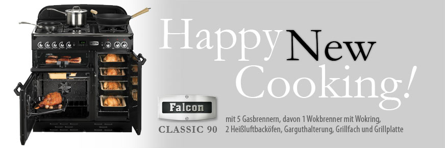 Happy New Cooking mit dem Falcon Classic 90