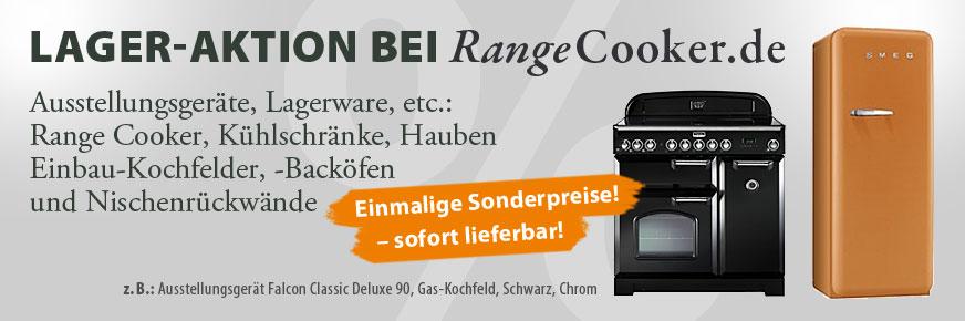 Lager-Aktion bei RangeCooker.de
