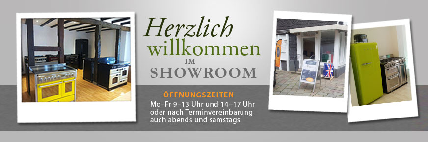 Besuchen Sie unseren Range Cooker Showroom in Essen-Kettwig