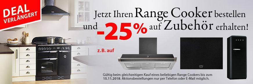 Deal: 25% auf Zubehör zum Range Cooker